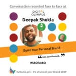 Deepak Shukla #SEOisAEO DigitalOlympus