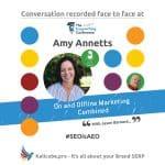 Amy Annetts #SEOisAEO CopyCon19