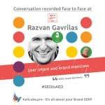 Razvan Gavrilas #SEOisAEO TakeitOffline Brighton