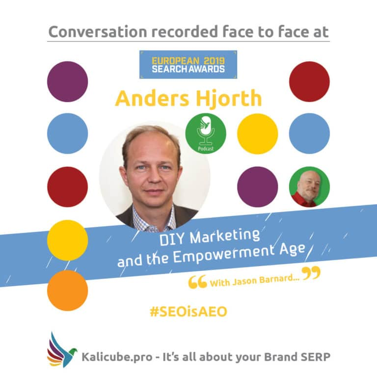 Anders Hjorth #SEOisAEO EuropeanSearchAwards