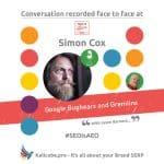 Simon Cox #SEOisAEO TakeitOffline Brighton