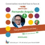 Fernando Angulo #SEOisAEO semrushTelAviv