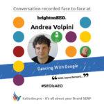 Andrea Volpini #SEOisAEO BrightonSEO