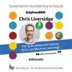 Chris Liversidge #SEOisAEO BrightonSEO