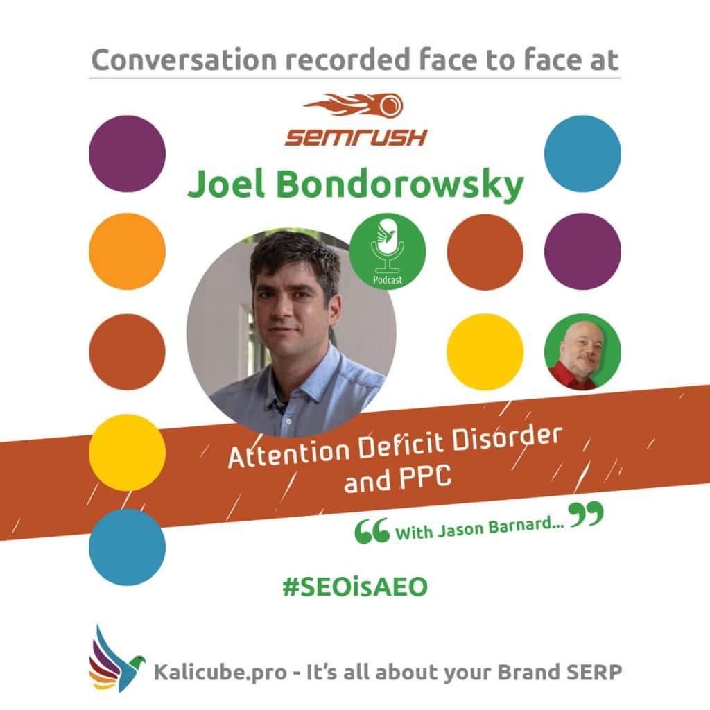 Joel Bondorowsky #SEOisAEO semrushTelAviv