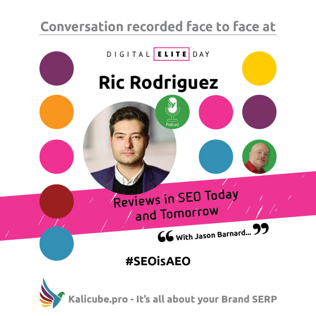 Ric Rodriguez #SEOisAEO DigitalEliteDay