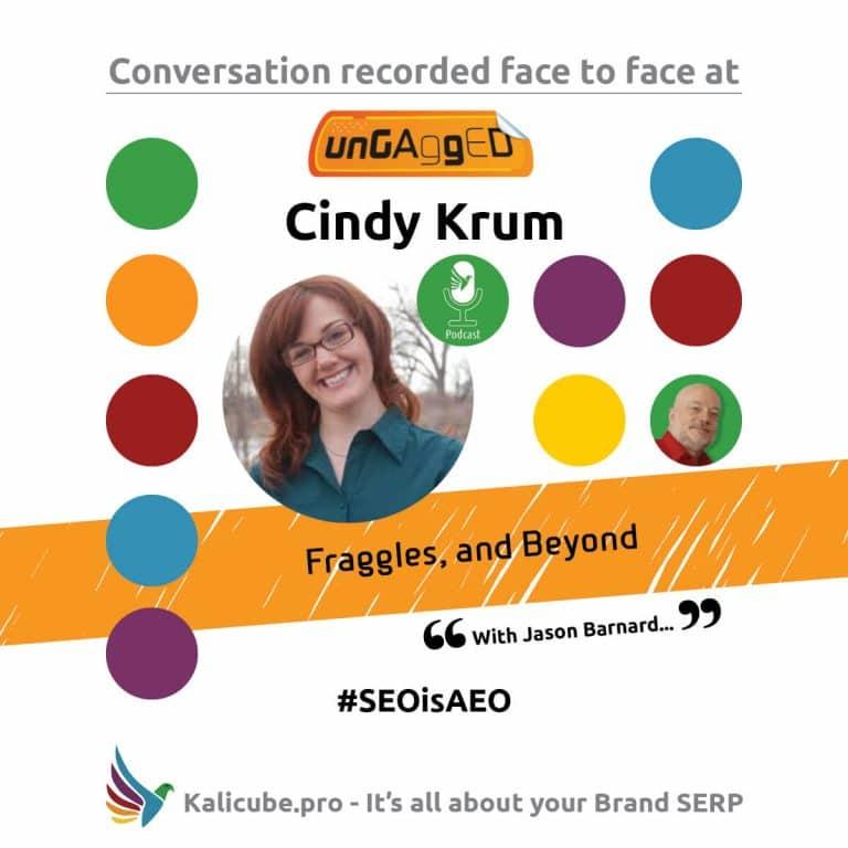 Cindy Krum #SEOisAEO ungaggedUSA
