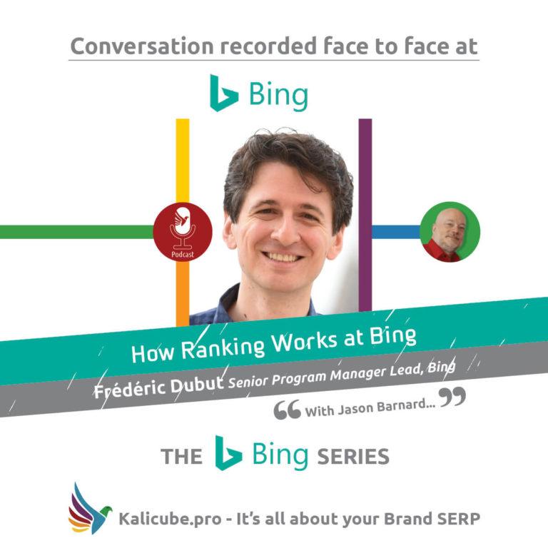 Frédéric Dubut with Jason Barnard - The Bing Series