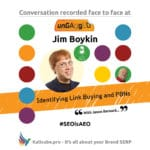 Jim Boykin #SEOisAEO ungaggedUSA
