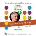 Lily Ray #SEOisAEO Semrush