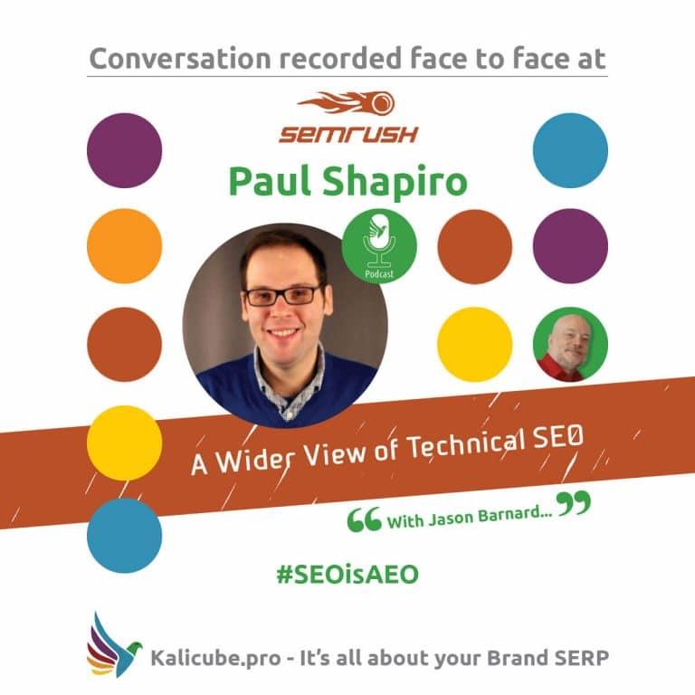 Paul Shapiro #SEOisAEO Semrush