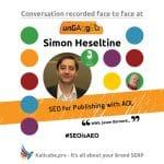 Simon Heseltine #SEOisAEO ungaggedUSA