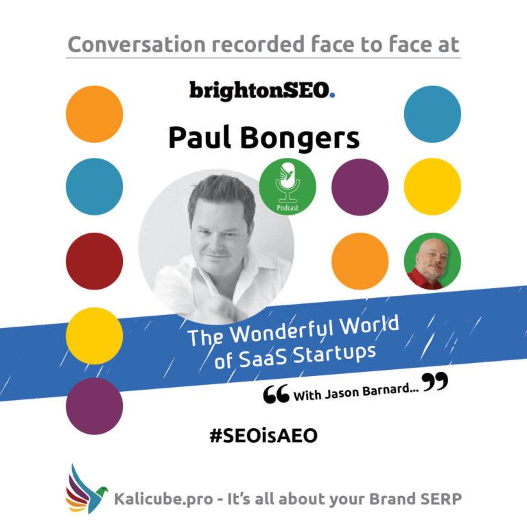 Paul Bongers #SEOisAEO BrightonSEO