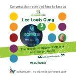 Lee Louis Gung #SEOisAEO ChiangmaiSeo