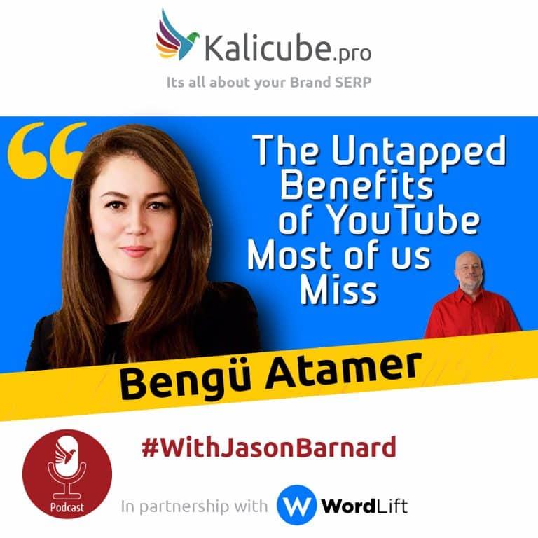 Bengü Atamar with Jason Barnard