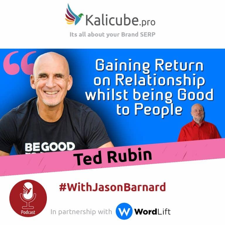 Ted Rubin with Jason Barnard