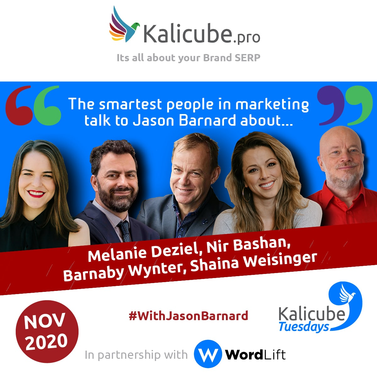 Kalicube Tuesdays November 2020