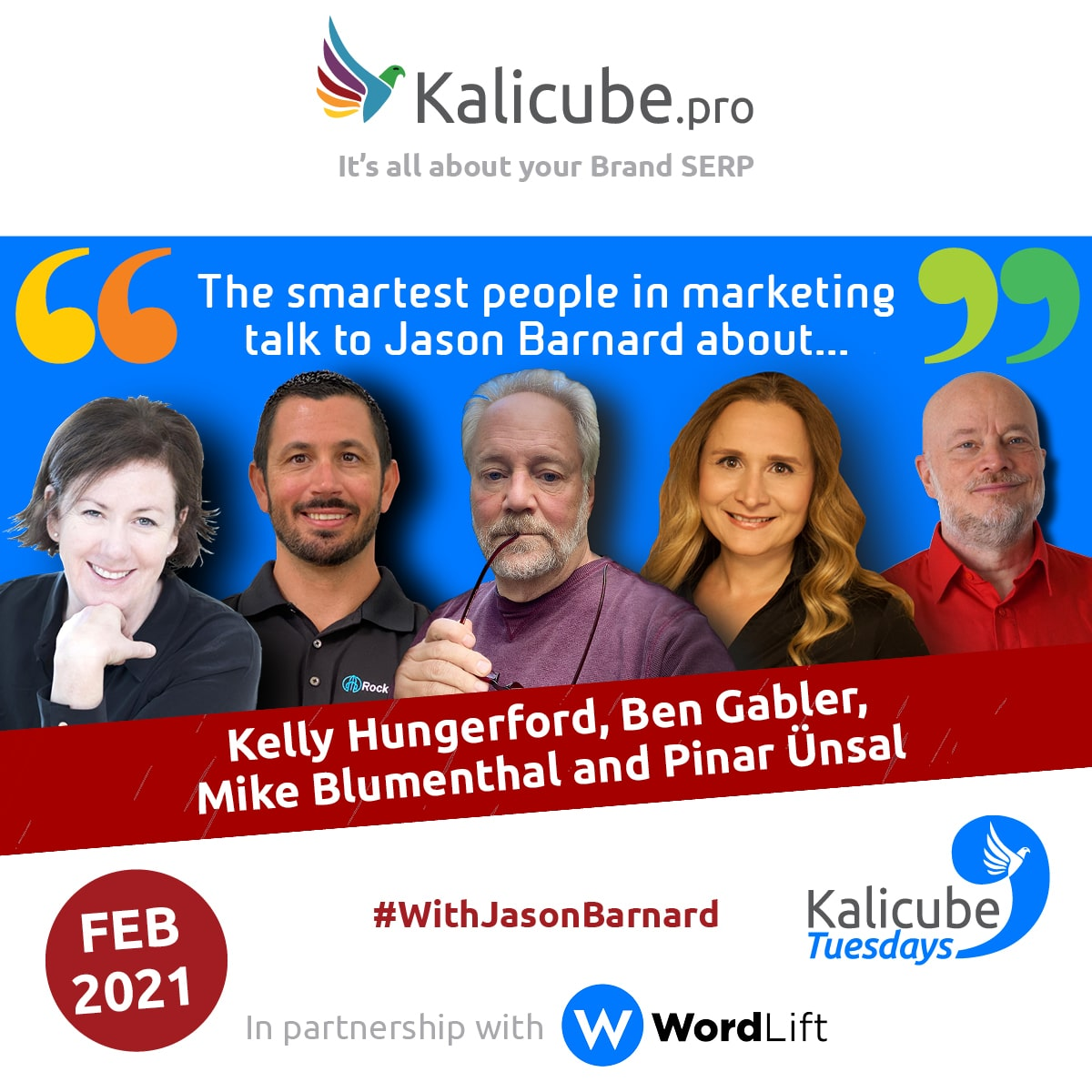 Kalicube Tuesdays February 2021