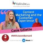 Casie Gillette and Jason Barnard