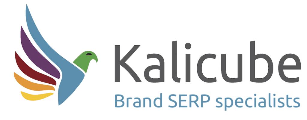 Kalicube logo with Slogan